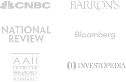 Financial News Featured In: CNBC, Barron's, Bloomberg, Investopedia...